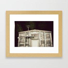 Rooftop Framed Art Print
