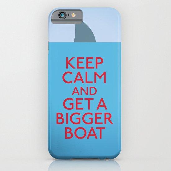 Get a bigger boat iPhone & iPod Case