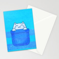 Pocket Full of Purr Stationery Cards