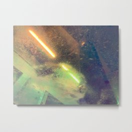 Iridescent Space Metal Print