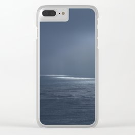 Ocean Glow Clear iPhone Case
