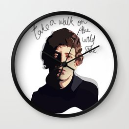 Lou Reed - Walk on the Wild Side Wall Clock