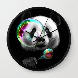 PANDA BUBLEMAKER Wall Clock