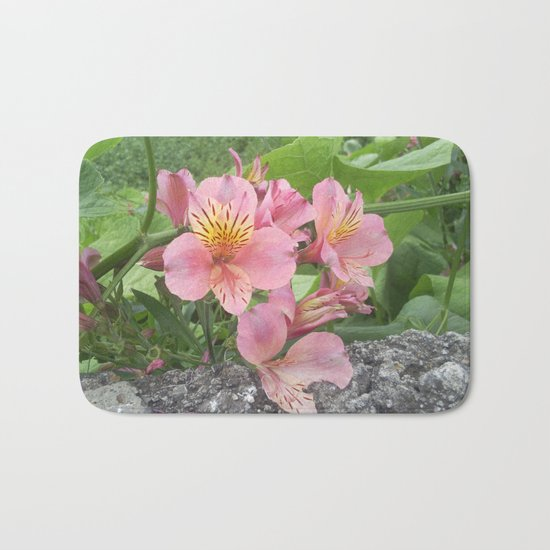 small flowers of tenerife Bath Mat