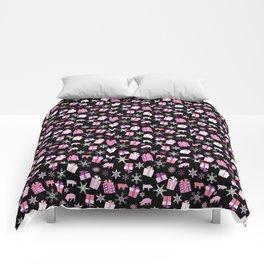 Piggy Pattern Presents Comforters