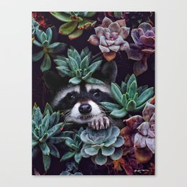 hello, you look gorgeous today. Canvas Print