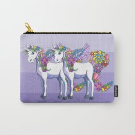 Unicorn Twins Carry-All Pouch