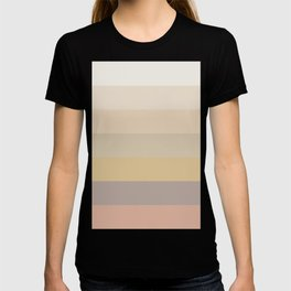 Dusty Rainbow Pattern T-shirt