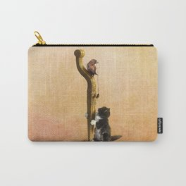 The Cat, the Bird and the Mouse Carry-All Pouch