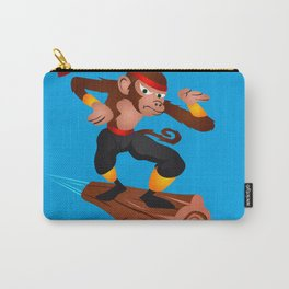 Monkey Ninja flying Carry-All Pouch