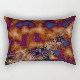 Brown vibration Rectangular Pillow