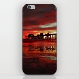 Surf City Sunset 11-15-16 iPhone Skin