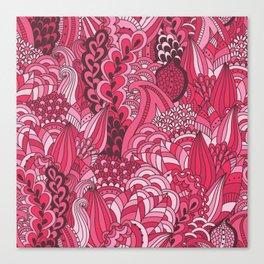 Paisley Pop Tangle #6 Canvas Print