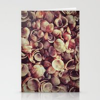shells Stationery Cards featuring Shells by HooVeHee