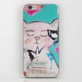 Garden Gatto iPhone Skin