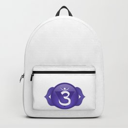 Third Eye Chakra Symbol Backpack