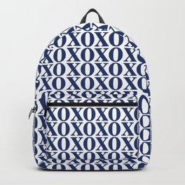 Navy XOXO Backpack