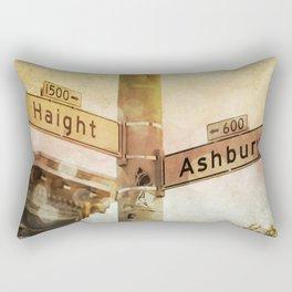 Sunset In the Haight Rectangular Pillow