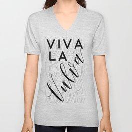 Viva La Vulva Unisex V-Neck