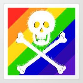 Know No Shame LGBT Art Print