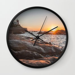 Spring smell Wall Clock