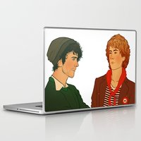 enjolras Laptop & iPad Skins featuring E & R by rdjpwns