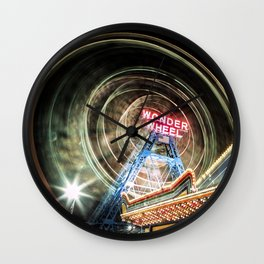 Island On The Coast Wall Clock