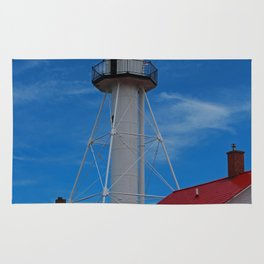 Whitefish Point Lighthouse III Rug