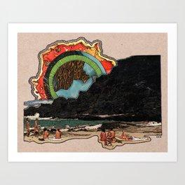 HEAT WAVES Art Print
