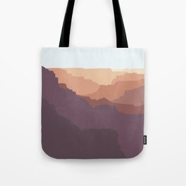 Grand Canyon National Park - Modern Layers Tote Bag