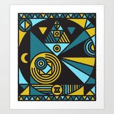 Witchcraft Alchemist Art Print