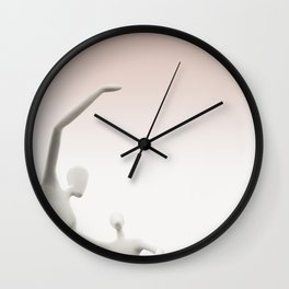Modern Aliens Wall Clock