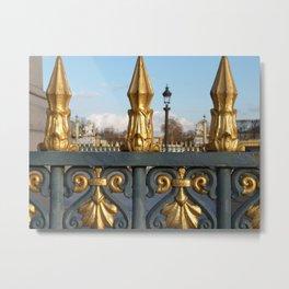 Place de la Concorde I Metal Print