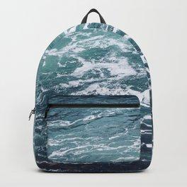 Ocean Photography | Sea | Blue Water | Seascape | Aqua Backpack