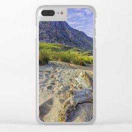 Tryfan Mountain Clear iPhone Case