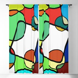 Shapes And Shades Blackout Curtain
