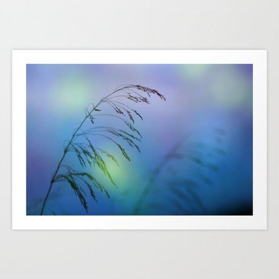 wind colors Art Print