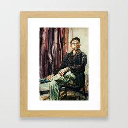 Rudy After Sargent Framed Art Print