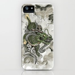 Dragon of The Mist iPhone Case