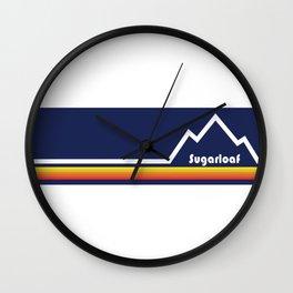 Sugarloaf Mountain, Maine Wall Clock