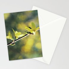 Little Yellow Flowers Stationery Cards