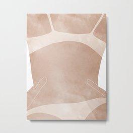tan lines Metal Print