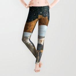Winter Stars Leggings