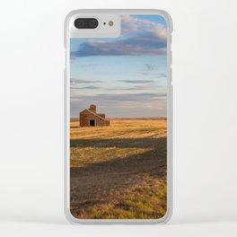 Grain Elevator 22 Clear iPhone Case