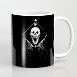 Grin Reaper -  Black Coffee Mug