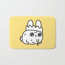 New Year bunny Bath Mat