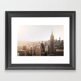 Empire Love Framed Art Print