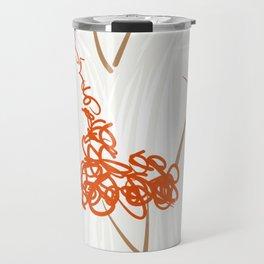 The white dress Travel Mug