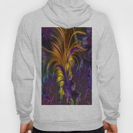 Fractal feather Hoody