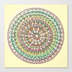 Aztec Trek Canvas Print